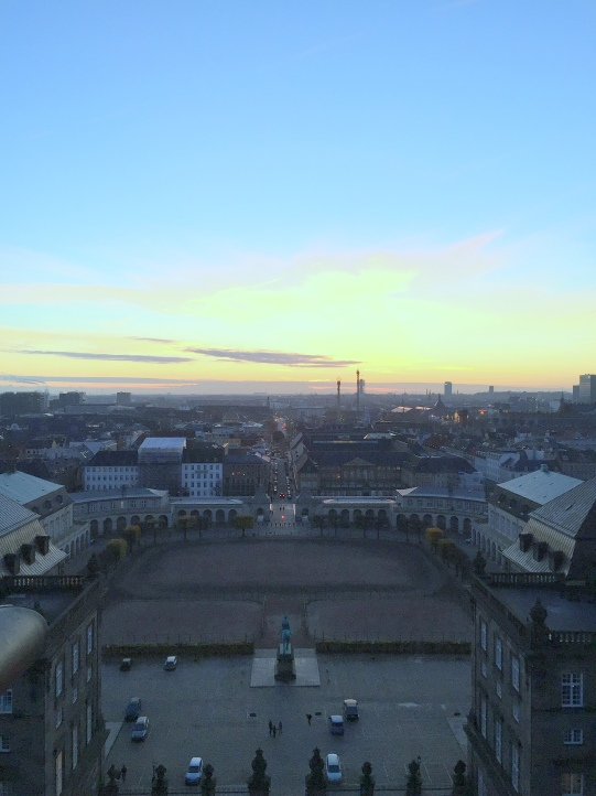 Fairy Tale Trail Christianborg Palace Sunset View